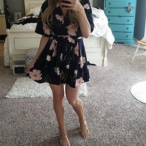 Floral Romper dress style